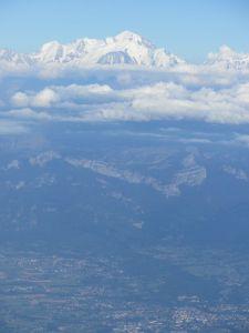 Dernière vue du Mont-Blanc...c'est pas l'Aconcagua mais ça se vaut !