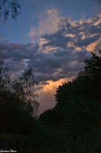 Ombres et lumières dans les nuages